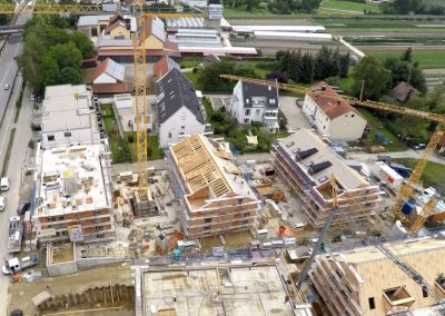 Wohnungsbau der Breiteneicher GmbH, Vilsbiburg aus einem anderen Blickwinkel