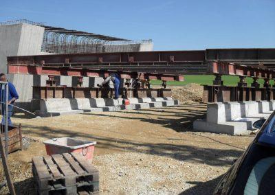 Betonarbeiten an einer Brücke, Breiteneicher GmbH, Vilsbiburg