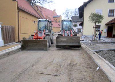 Kleinbagger der Firma Breiteneicher GmbH