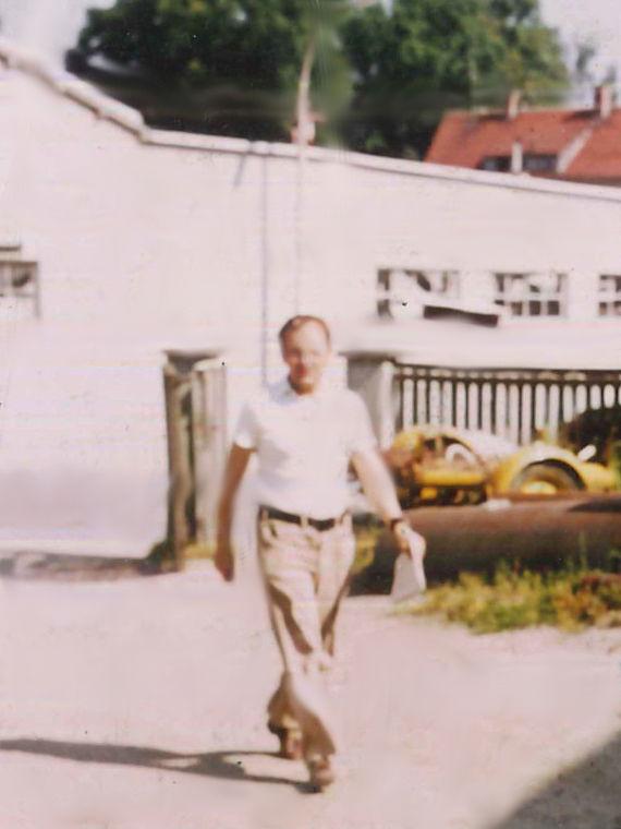 Herbert Winkler, ab 1985 Chef der Firma Breiteneicher