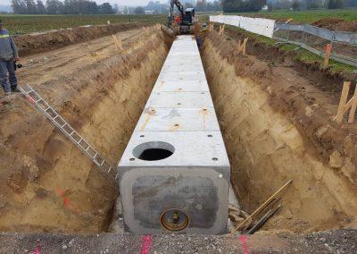 Kanalbau durch die Breiteneicher GmbH, Vilsbiburg
