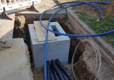 Wasserleitungs- und Rohrleitungsbauarbeiten durch die Breiteneicher GmbH, Vilsbiburg